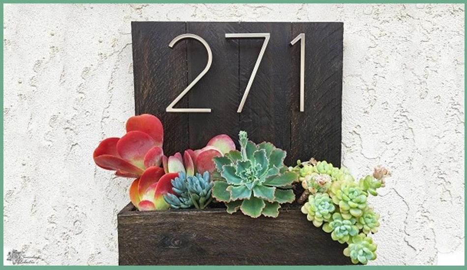 Father's Day DIY House Number Planter!